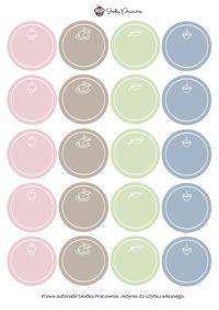 Etykietki na przyprawy - Słodka Pracownia - Przepisy | Dekoracje | Przyjęcia