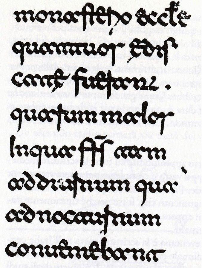 Storia della Calligrafia - The Calligraphy Shop