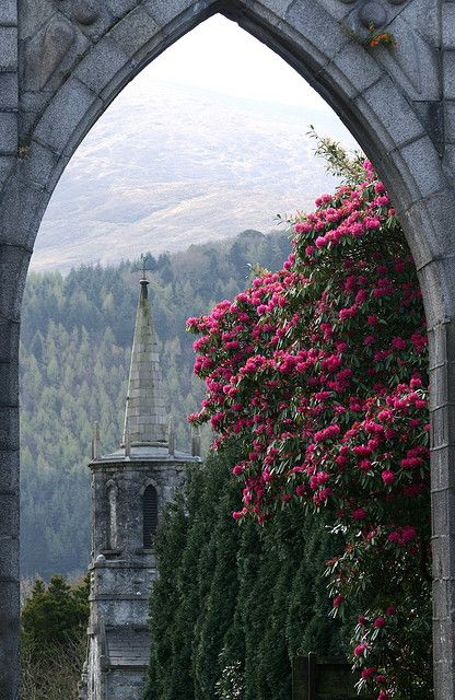 Tollymore Forest Park in Bryansford, Northern Ireland (by Judith Nesbitt).Favorite Places, Pretty In Pink, Forests Parks, Beautiful, Northern Ireland, View, Travel, Pink Rose, Tollymore Forests