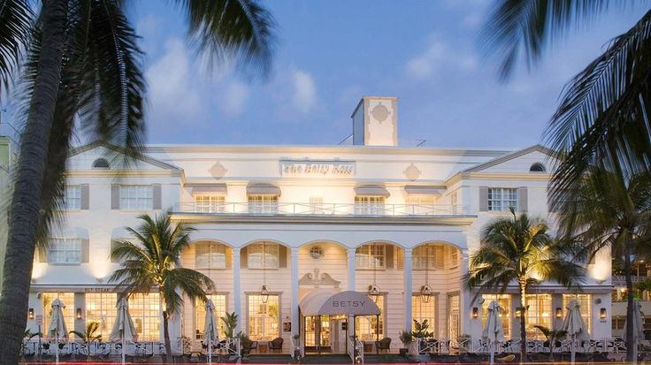 5. The Betsy, Miami Beach | Every year for its World's Best Awards survey, Travel + Leisure asks readers to weigh in on travel experiences around the globe—to share their opinions on the top hotels, resorts, cities, islands, cruise ships, spas, airlines, and more. Hotels were rated on their facilities, location, service, food, and overall value. Hotels were classified as City or Resort based on their locations and amenities. | Originally published by Travel + Leisure.