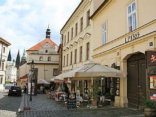 Apartamento Loretanska em Praga 1, Praga e arredores - 4 pessoas, 1 dormitóriosAluguer de férias em Mala Strana - Hradcany  da @homeawaypt