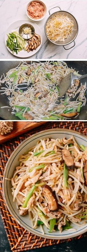 #Chicken with #Bean #Sprouts recipe by the Woks of Life