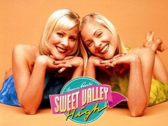 Sweet Valley High Read the books and loved watching the show when I got off the school bus!