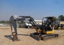 2011 John Deere 50D Mini Excavator Diesel Trackhoe Track hoe  apply to finance www.bncfin.com/apply excavators for sale - excavator financing