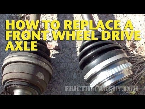 266 best car and truck repair images on pinterest cars garages how to replace a front wheel drive axle ericthecarguy youtube fandeluxe Gallery