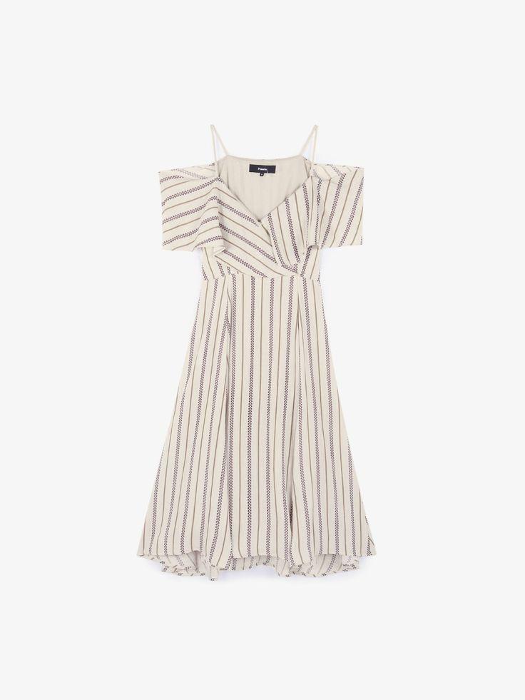 Aya Cut Out Shoulder Midi Dress
