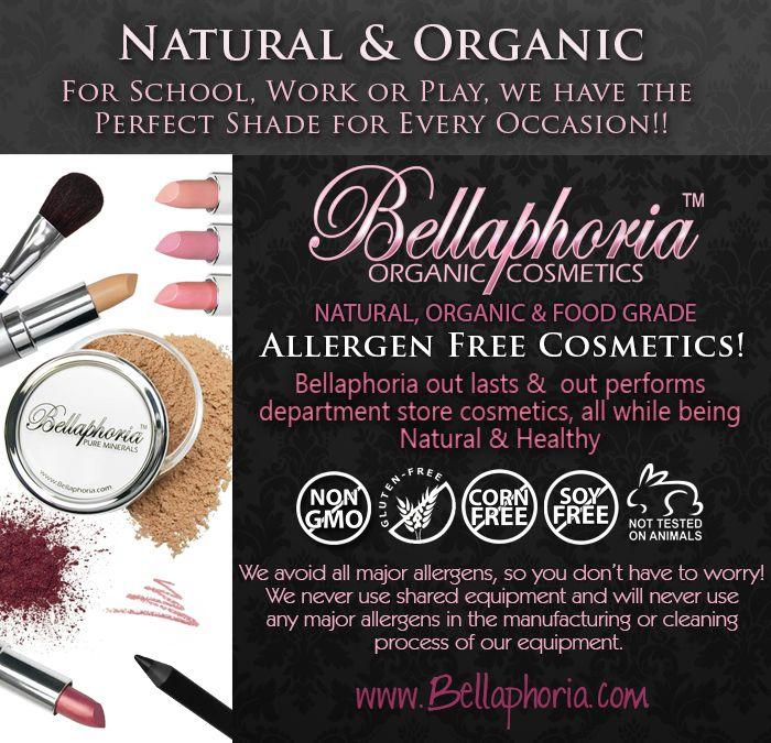 Bellaphoria Organic Mineral Makeup Canada 100 Pure