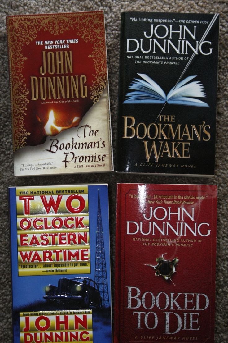 Lot of 4 John Dunning books by TheKindLady on Etsy