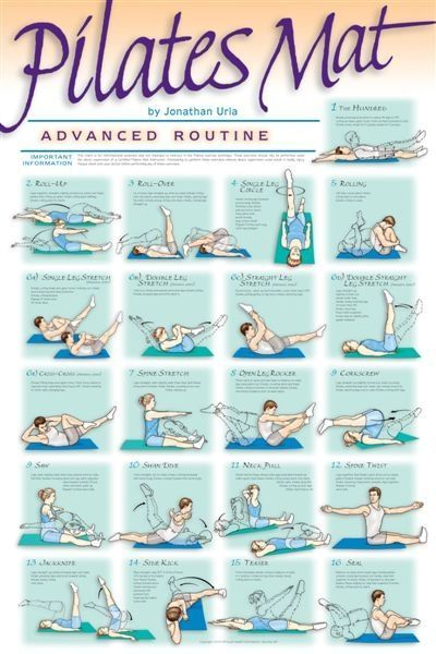 Pilates workout!