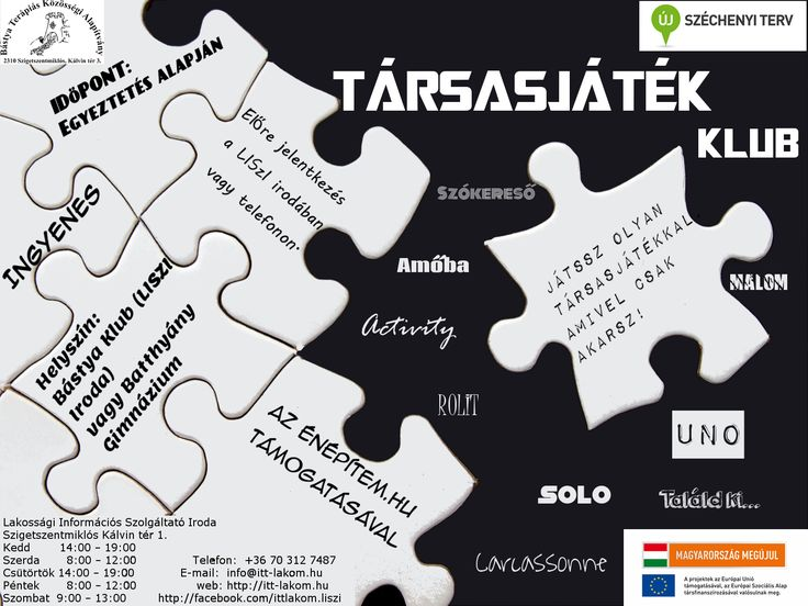 Saját plakátok ||  Társasjáték Klub  []   My posters, event flyers || Board game Club