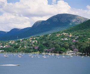 Hartbeespoort Dam is a watersports mecca.