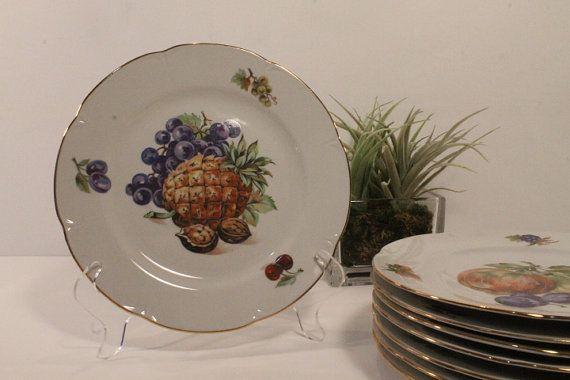 50 OFF SALE  JL Menau Plates Dessert Plate by ClockworkRummage