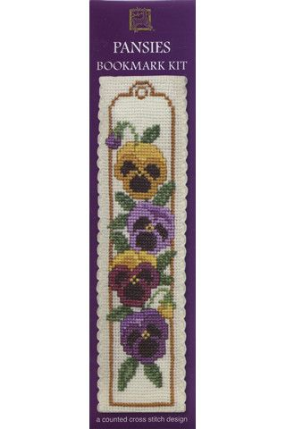 Textile Heritage Cross Stitch Bookmarks