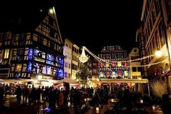 #Рождественская_ярмарка в #Страсбурге_Франция #advet #France #новый_год