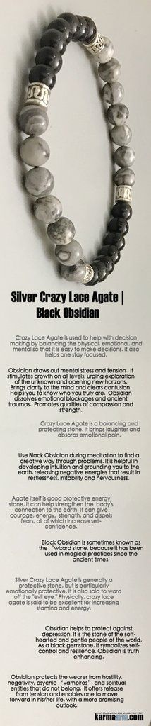 #BEADED #Yoga #BRACELETS - #Chakra #Mens #gifts #him Stretch #Womens #jewelry #gifts ♛ As a #black #gemstone, it symbolizes #self-control and resilience. #Obsidian is truth enhancing. A strongly protective #stone, it forms a shield against negativity.#Silver #Crazy #Lace #Agate #Tony #Robbins #Eckhart #Tolle #Crystals #Energy #gifts #Handmade #Healing #Kundalini #Law #Attraction #LOA #Love #Mala #Meditation #prayer #Reiki #mindfulness #wisdom #Fashion #birthday #Lucky #Spiritual #Buddhist