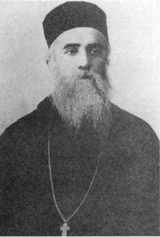 Saint Nektarios the Wonder-worker of Aegina. The patron saint of those suffering from cancer among other things. Glory to God for the prayers of His saints!
