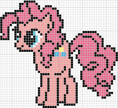 MLP PInkie Pie pattern by Sailor-Phantom on deviantart