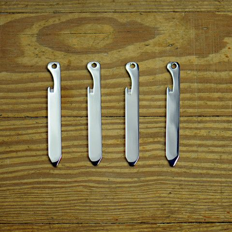 They're collar stays! They're bottle openers! Thread cutters! Screwdrivers! They're so incredibly useful for something so used to simply being there.
