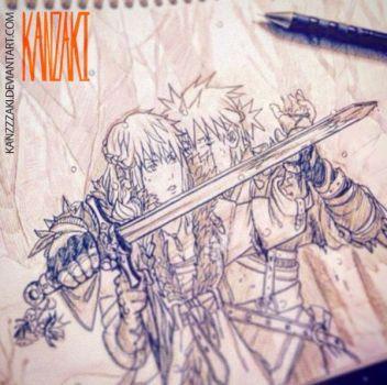 spikes_sketch01 by kanzzzaki