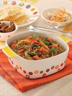 This traditional spicy rice dish from karnataka is quite addictive – served piping hot topped with lots of ghee and accompanied by fried papads and a cool raita, it is almost impossible to say no to! improvise by adding field beans, peas, kidney beans or other legumes along with the vegetables, for an extra-strong protein boost! victims of this lightning-fast age need not miss out on this delicacy; you can make it using readymade bisi bele bhaat masala instead of grinding the spices.