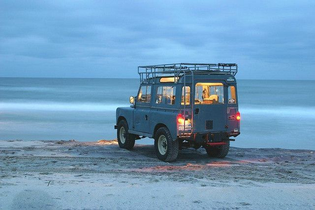 "// 1963 SIIA 88"" Land Rover  ""Gettin on 'round dusk"""