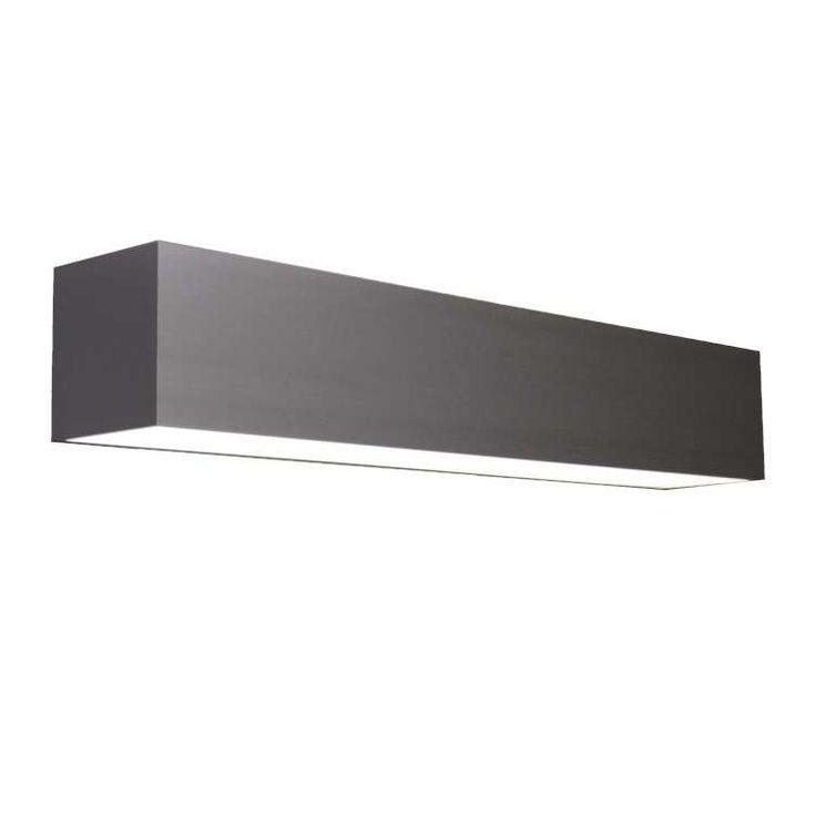 Kinkiet LAMPA ścienna LINE 90 W 2.121407.kolor Chors metalowa OPRAWA prostokątna LED 31,8W IP20 belka