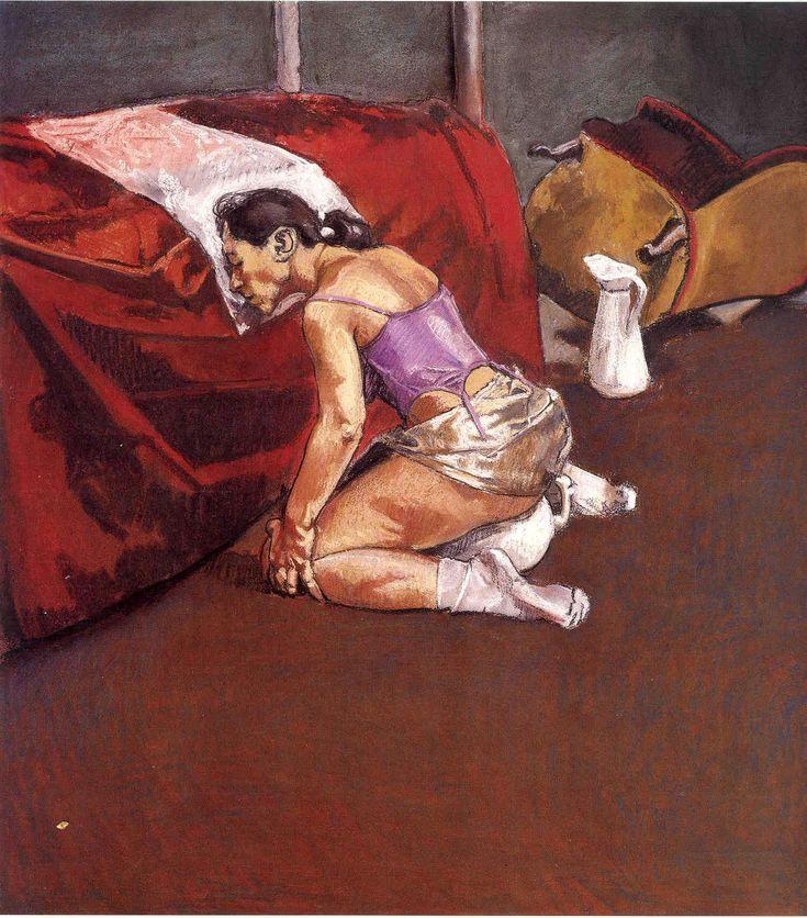 Paula Rego. Untitled No. 2, 1998. Pastel on paper mounted on aluminum, 110 x 100 cm.