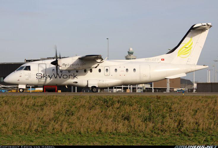 Dornier 328-130 aircraft picture.  Amsterdam - Schiphol (AMS / EHAM) Netherlands, December 2, 2013