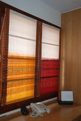 Saree blinds