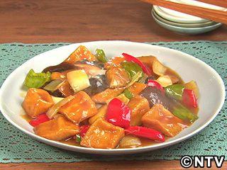 高野豆腐を中華味で「高野豆腐の酢豚風」のレシピを紹介!