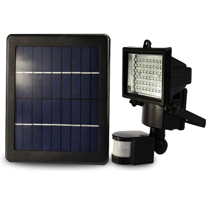 (53.09$)  Watch here  - Solar Panel Floodlights LED Solar Flood Light Outdoor Security PIR Motion Sensor SMD2835 LEDs Garden Path Wall Emergency Lamp