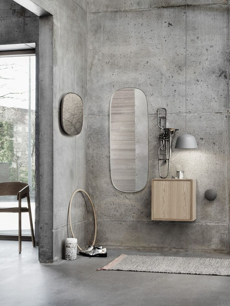Framed, A Mirror With Great Sculptural Value Anderssen U0026 Voll For MUUTO