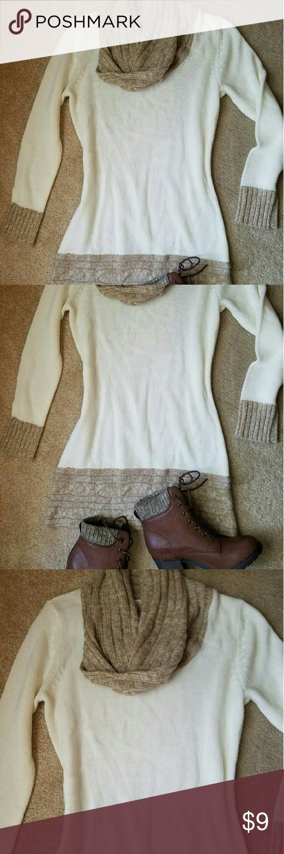 Winter dress. Perfect for fall and winter. It looks amazing with some legguins and booties. I wear this only a few times, but it looks almost new! Canyon River Blues Dresses Midi