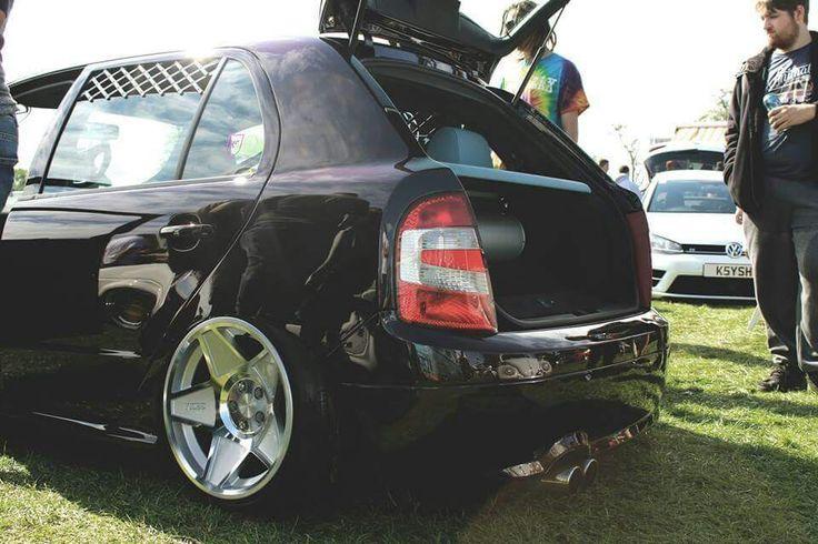 Fabia RS on 3sdm wheels
