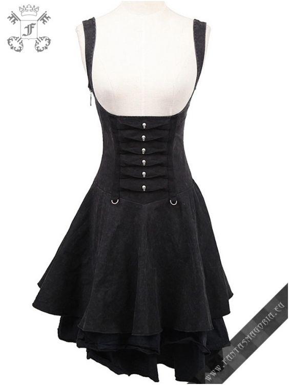 Q-239 Rebella dress punk rave | Fantasmagoria.eu - Gothic Fashion boutique