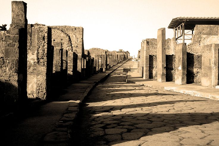 D.Signers | ¿Qué pasó en Pompeya? 45.Calle pavimentada.