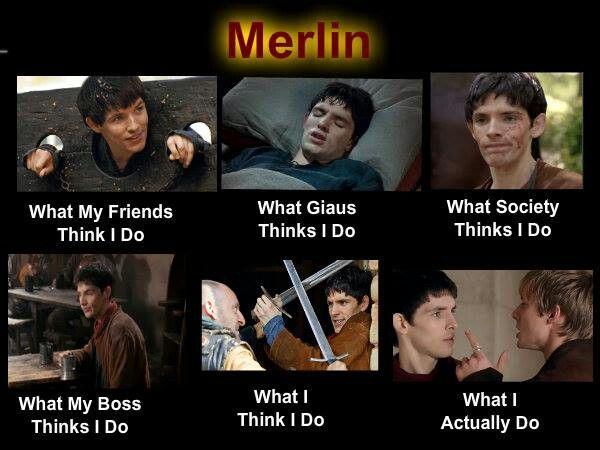 Merlin what I think I do...