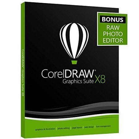 CorelDRAW Graphics Suite X8 - Amazon Exclusive - Includes RAW Photo Editor -   - http://www.xeonsoft.net/business-office/coreldraw-graphics-suite-x8-amazon-exclusive-includes-raw-photo-editor-com/