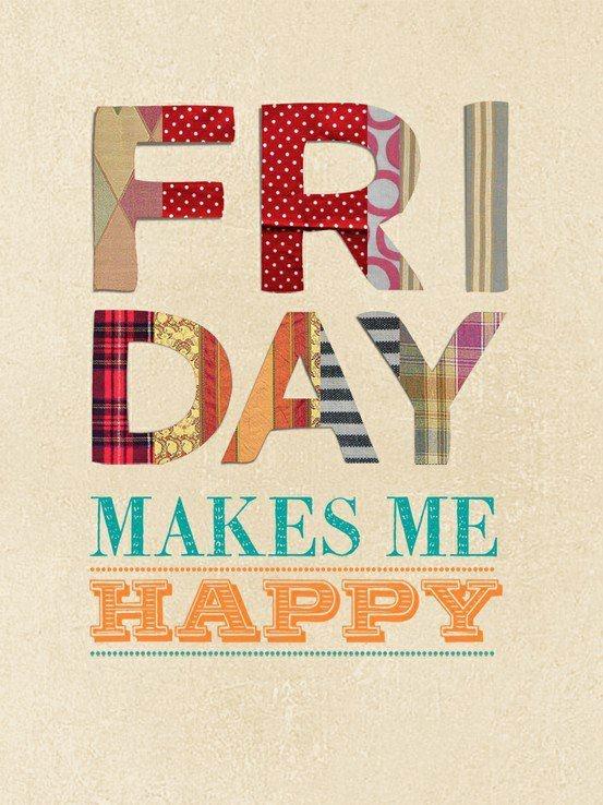 Friday, we love u!