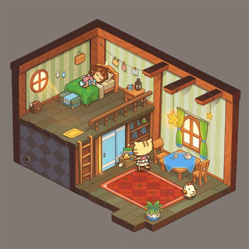 Home Sweet Home Finally found time to finish this! I tried many times but Tumblr…