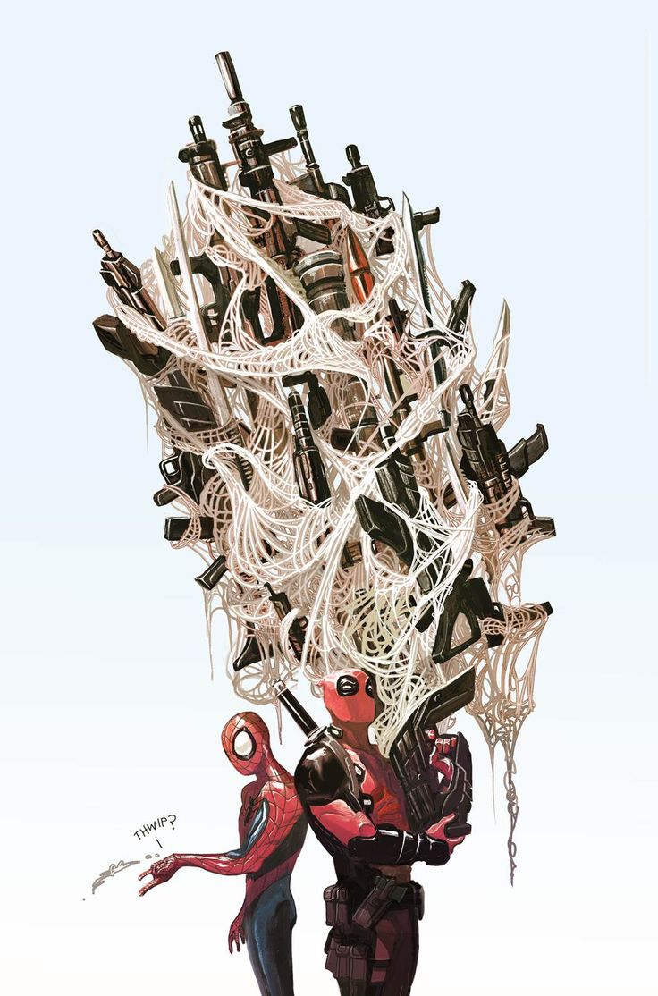 Spider Man Deadpool 1 Del Mundo Variant