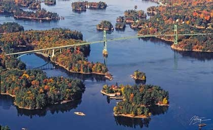 1000 Islands. Gananoque, Ontario, Canada