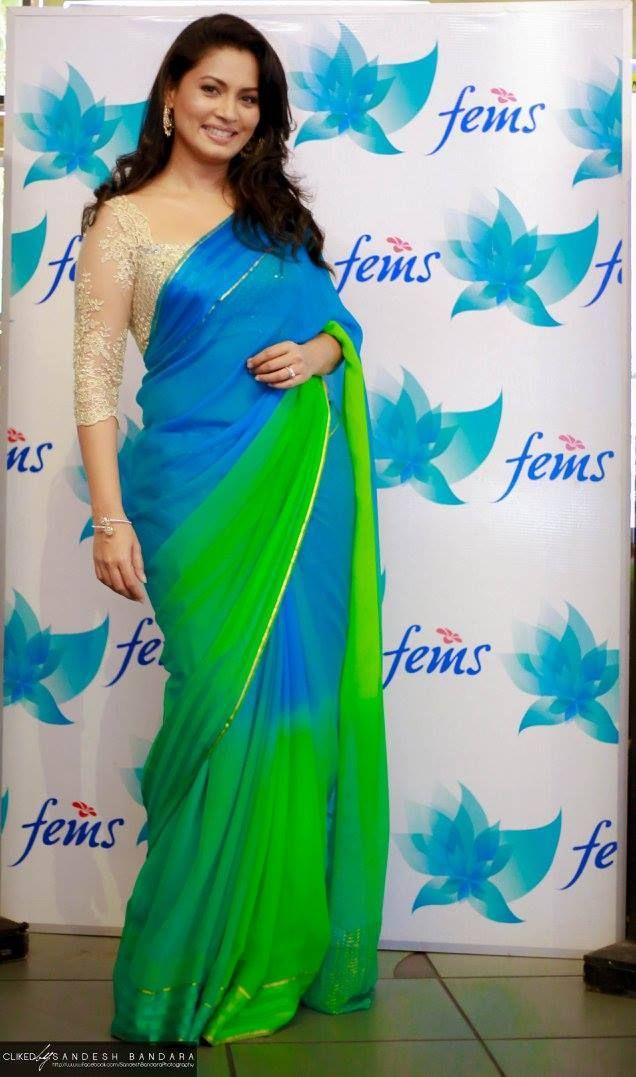 Pooja G Umashankar in Indi fashion