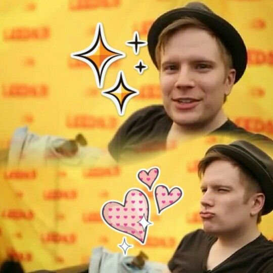 Patrick Stump being adorably cute... | FOB!!! | Pinterest