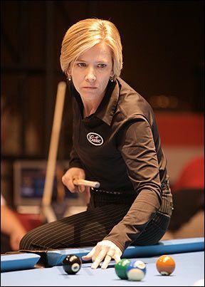 Allison fisher - Présente depuis l'âge de 17 ans sur les championnat de snooker