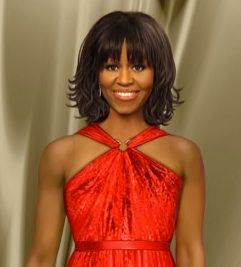 Michelle Obama Inaugural Ball Doll Is Creepily Realistic!