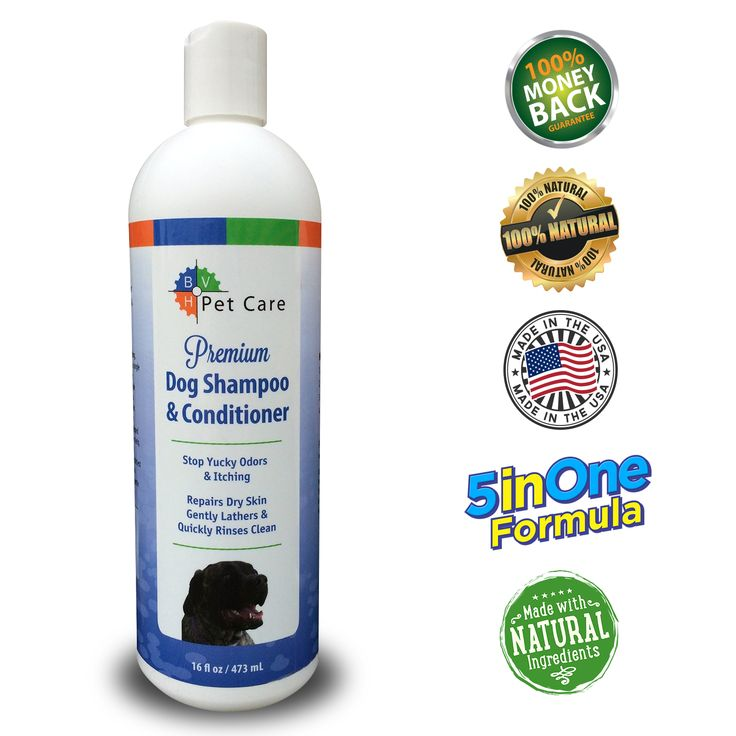 BVH Provides Alternative to Dog Shampoos Containing Potentially Harmful Chemicals
