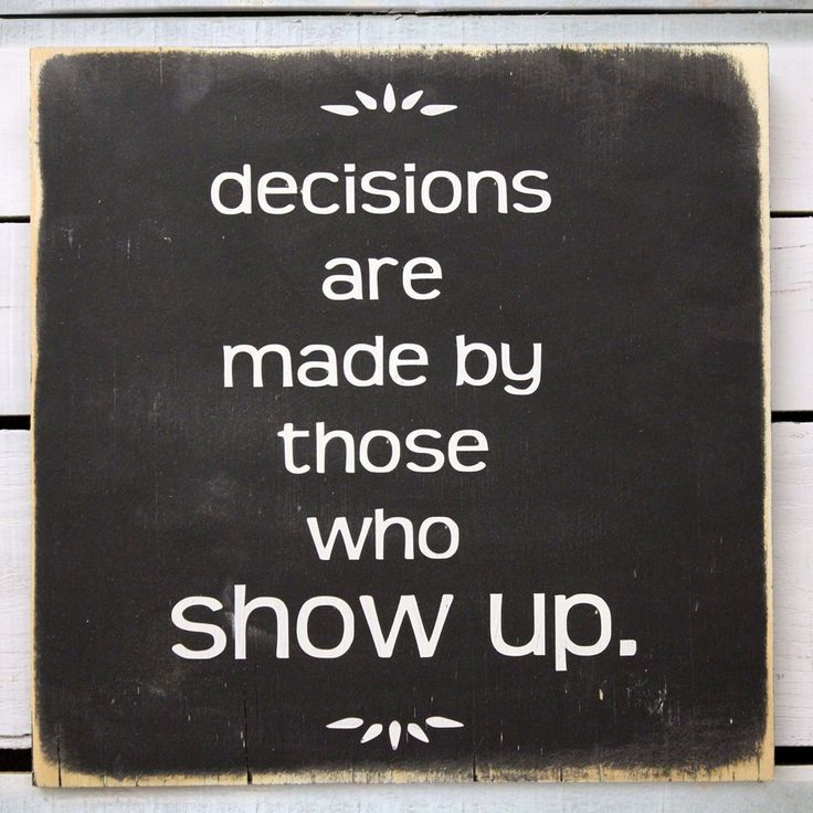 Love this....who decisions are made by.| Note by tamishaford.com