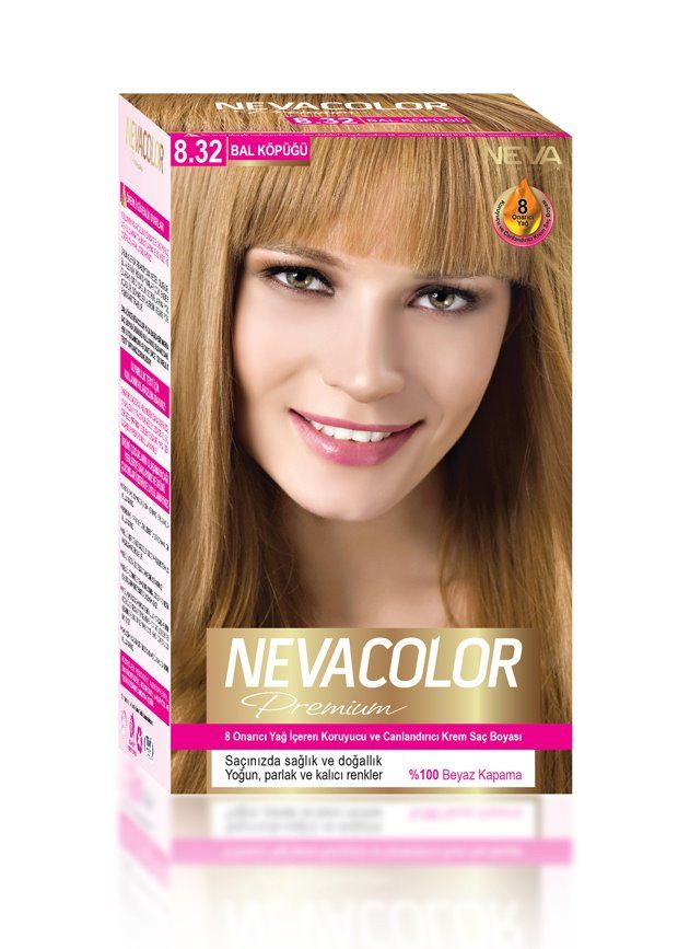 Nevacolor Premium Sac Boyasi 8 32 Bal Kopugu Sac Sac Boyasi