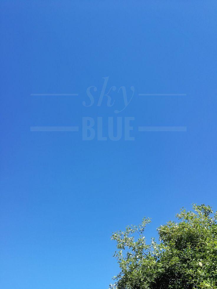 Color of The Week: sky blue by @detaljee.